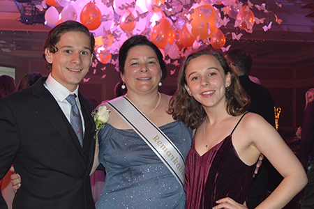 """Dr. Nancy Sweitzer with her son and daughter at Tu Nidito benefit, """"Remarkable Celebration Prom Night,"""" May 11 at the Westin La Paloma"""