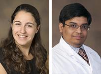 Drs. Gianna O'Hara and Anil Potharaju