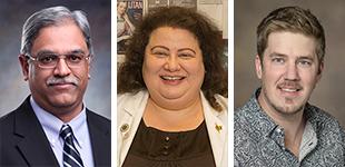 Drs. Vijay Gokhale, Heidi Mansour and Brett Colson