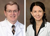 Drs. James Sligh and Clara Curiel-Lewandrowski