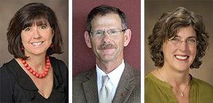 Drs. Monica Kraft, Stephen Thomson and Merri Pendergrass