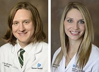 Drs. Jeffrey Krase and Marilyn Wickenheiser