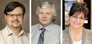 Dr. Ruslan Rafikov, Dr. Evgeny Zemskov and Carolyn Bothwell