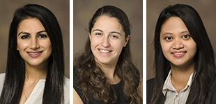 Drs. Sarah Tariq, Gianna O'Hara and Wina Yousman