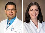 Drs. Edwin Aquino and Tara Carr