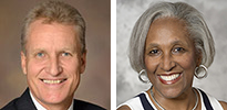 George Fantry, MD, and Juanita Merchant, MD, PhD