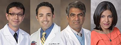 Drs. Kwan Lee, Jarrod Mosier, Sai Parthasarathy and Rachna Shroff