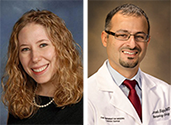 Drs. Lauren Maynard and Emad Elquza