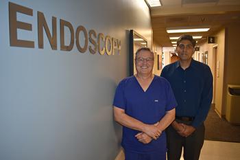 Drs. Oleh Haluszka and Hemanth Gavini