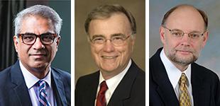 Drs. Sairam Parthasarathy, Raymond Woosley and Wojciech Zareba