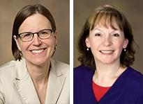 Drs. Joann Sweasy and Linda Restifo