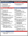 2017-18 faculty teaching award winners from UArizona Department of Medicine (click to enlarge)