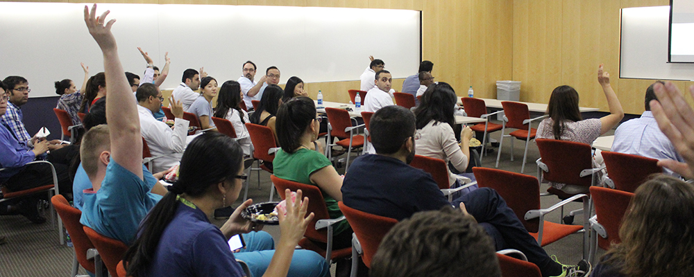 Fellows Pack House for DOM Fellowship Retreat   Department