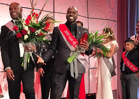 Forest Melton (middle) honored as 2019 Leukemia & Lymphoma Society AZ Man of the Year