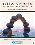 Cover of the journal, Global Advances in Health and Medicine
