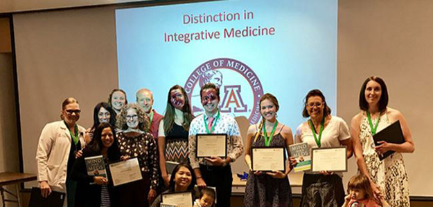 UA med students who graduated in Integrative Medicine Distinction Track