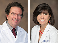 Drs. Fernando Martinez and Monica Kraft