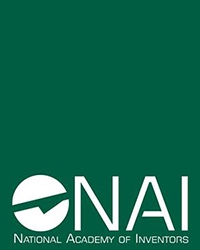 National Academy of Inventors logo on green