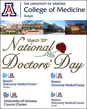 Image for National Doctors' Day at UA/Banner facilities in Tucson