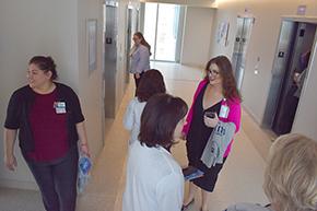Carmen Mendoza, Jackie May, NP, Katherine Sepulveda and Irene Robles