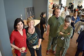 HR/Personnel's Terri Buchanan and Cynthia Campas