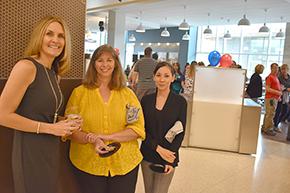 Tracy Rios, division manager, and senior accountants, Karen Railey and Krystal Knox