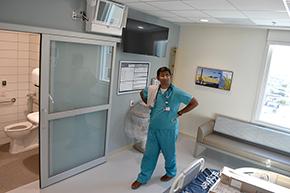 Hospitalist Dr. Ali Raoof, Division of Inpatient Medicine