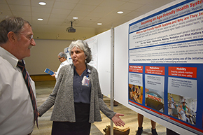 Attendees at 3rd Annual P.I. Poster Session - photo #1