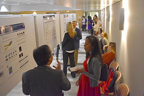 Attendees at 3rd Annual P.I. Poster Session - photo #2