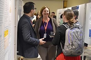 Attendees at 3rd Annual P.I. Poster Session - photo #5
