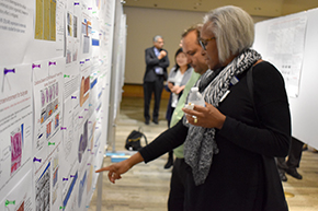 Attendees at 3rd Annual P.I. Poster Session - photo #6