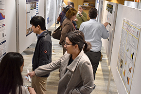 Attendees at 3rd Annual P.I. Poster Session - photo #7