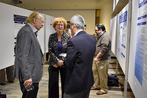 Attendees at 3rd Annual P.I. Poster Session - photo #8