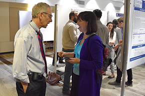 Attendees at 3rd Annual P.I. Poster Session - photo #9