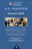 Cover image of brochure with agenda & presenters for 3rd Annual P.I. Poster Session