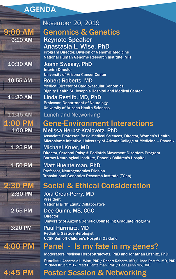Agenda for 2019 Reimagine Health research symposium