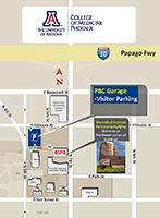Parking Map for Reimagine Health symposium in Phoenix