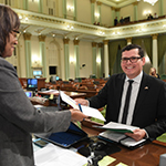 Image of Calif. Assembly member Rudy Salas from Hanford Sentinel