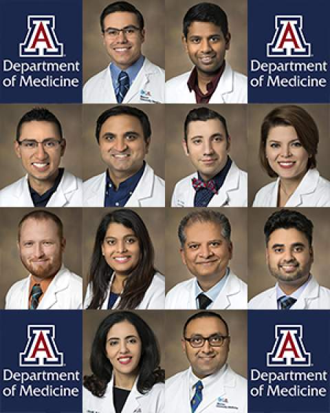 Teaser image for dozen new hospitalists start at UA/Banner - UMC Tucson