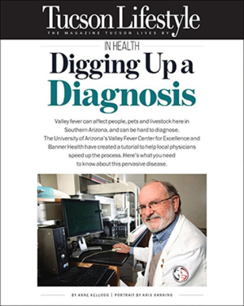"""Teaser image for this story on Tucson Lifestyle article, """"Digging Up A Disease"""""""