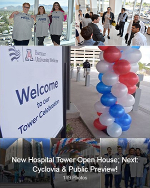 Teaser image of new hospital tower open house photo galleries