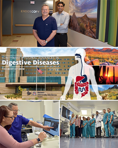 Teaser image for Southwest Regional Advances in Digestive Diseases: Best of DDW conference, 8 a.m.-12:30 p.m., Sept. 27, 2019