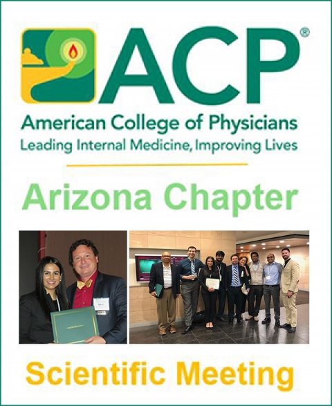 Teaser image for S. Campus residents take 1st, 2nd in 4 of 6 ACP Arizona Chapter academic contests