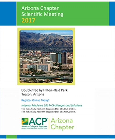 ACP Arizona Chapter 2017 Scientific Meeting