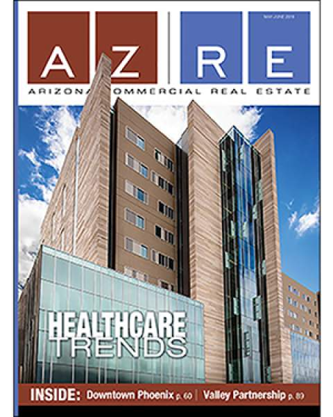 Teaser image of May/June 2019 cover of Arizona Commercial Real Estate Magazine – AZRE