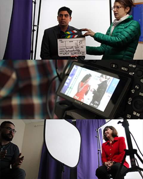 Drs. Hemanth Gavini, Khadijah Breathett and Monica Kraft film video profiles for Banner Health