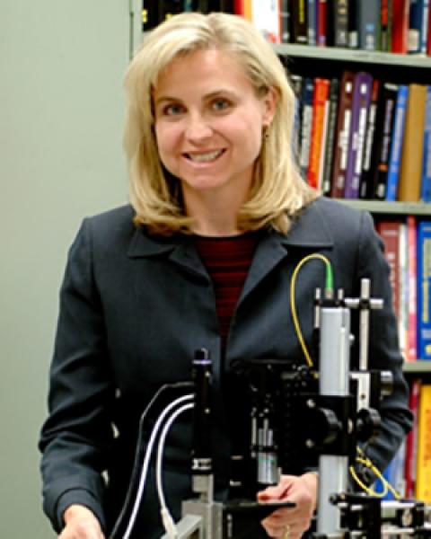 Teaser image for Dr. Jennifer Barton and a falloposcope