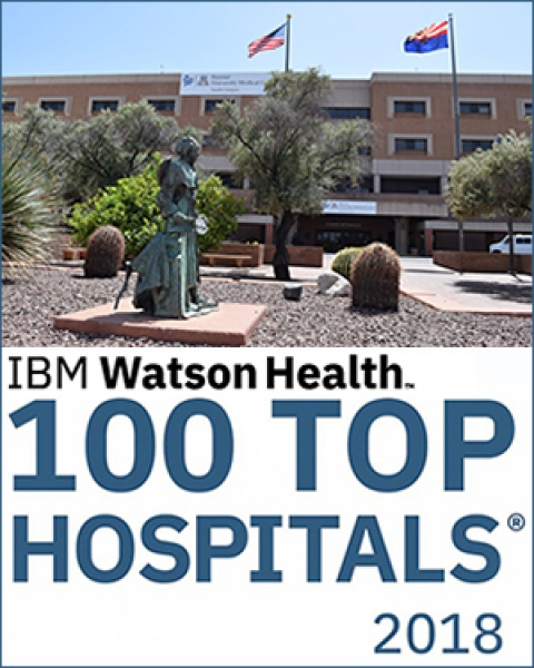 Banner - University Medical Center South is IBM Watson Health Top 100 Hospital