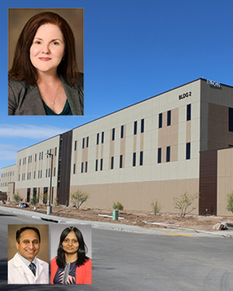 Drs. Tammy Ojo, Tejo Vemulapalli & Sireesha Koppula on image of Banner - University Medicine North Building 2