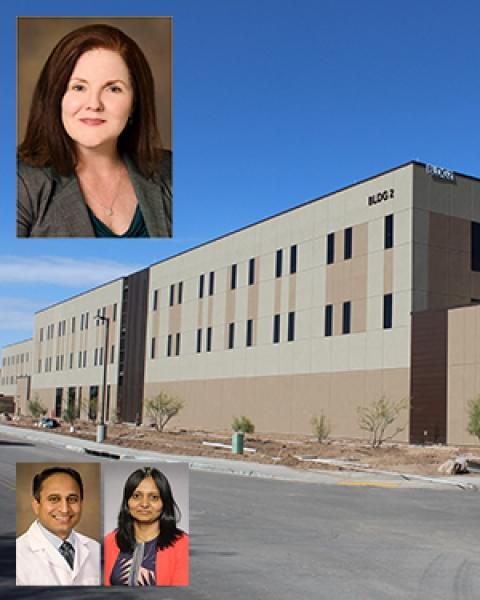 Drs. Tammy Ojo, Tejo Vemulapalli & Sireesha Koppula on image of Banner - University Medicine North Building 2